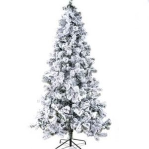 albero di natale bianco modello Monte Bianco