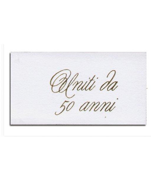 50 Anniversario Di Matrimonio Biglietti.Biglietti Nozze D Oro 50 Anni Di Matrimonio Millemotivi Com