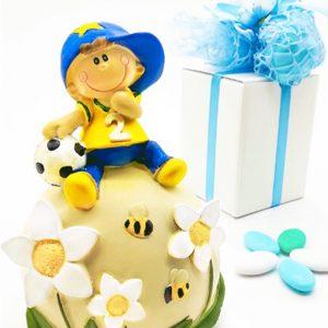 Bomboniera bimbo salvadanaio compleanno
