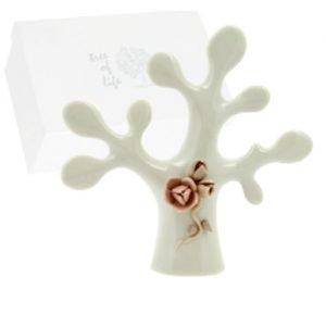 Bomboniera albero della vita in porcellana