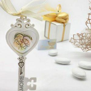Bomboniera chiave sacra famiglia