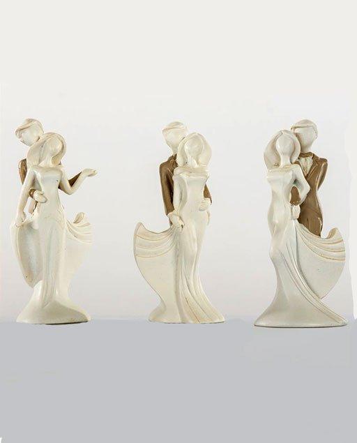 bomboniera coppia sposi in porcellana
