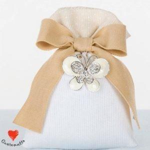 bomboniera farfalla portafortuna cuorematto