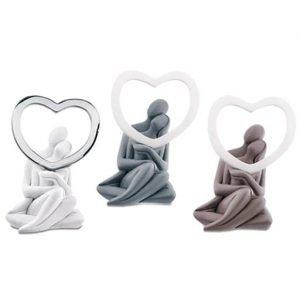 bomboniera matrimonio coppie stilizzate made in italy