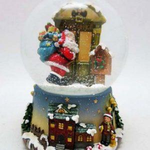 Carillon Waterball Babbo Natale