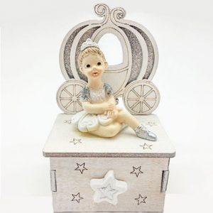 Bomboniera ballerina carillon