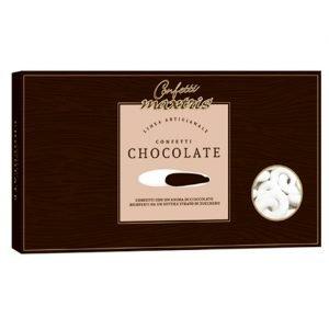 Confetti anelli intrecciati al cioccolato