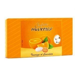confetti bianchi all'arancia