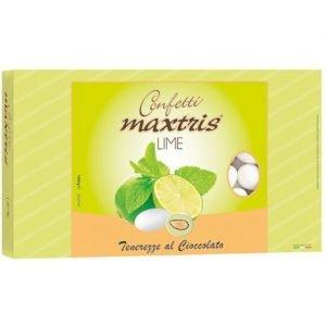 Confetti bianchi lime maxtris