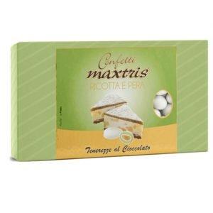 confetti bianchi ricotta e pera maxtris