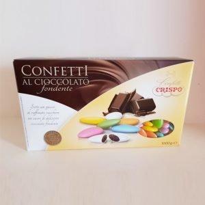 confetti colorati crispo al cioccolato