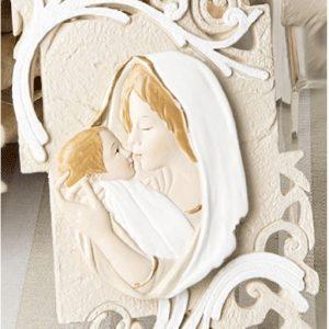 bomboniera quadretto maternità battesimo
