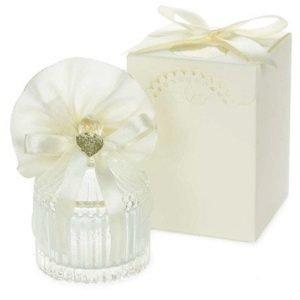 scatolina matrimonio portaconfetti in vetro confezione