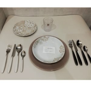 Servizio piatti tognana stile etnico