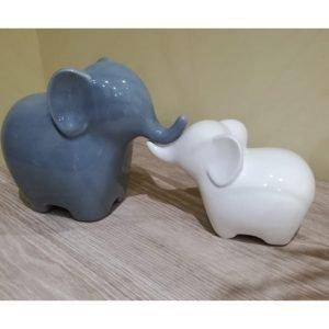 Set Elefanti ideale come bomboniera o articolo per la casa