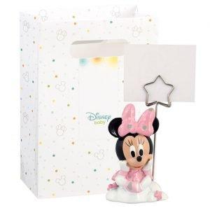 Bomboniera Minnie memoclip realizzata in resina. Nuova collezione Disney 2019.