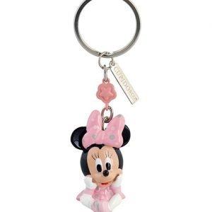Portachiavi Minnie baby realizzato in resina. Nuova collezione Disney 2019. Questo grazioso portachiavi topolino è ideale per: nascita, battesimo, compleanno.