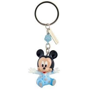Portachiavi Topolino baby realizzato in resina. Nuova collezione Disney 2019. Questo grazioso portachiavi topolino è ideale per: nascita, battesimo, compleanno.
