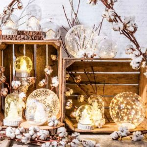 Sfera led natale Merry Christmas