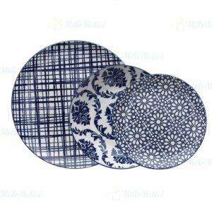 Servizio di piatti Bluepoint Tognana realizzati in porcellana