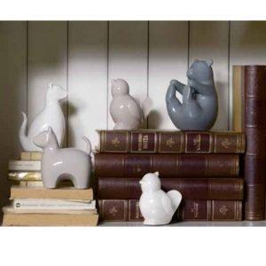Orso Andrea Fontebasso realizzato in ceramica