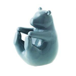 Orso Andrea Fontebasso realizzato in ceramica di colore grigio. Realizzabili come bomboniera o per impreziosire la tavola con eleganza e freschezza per le tue serate speciali!