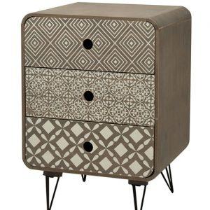 Mobile Abacus della linea URBAN. Eleganza e sobrietà entreranno a far parte del vostro ambiente grazie al mobiletto in stile classico con 3 cassetti.