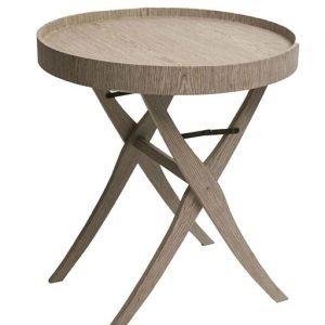 Tavolino con vassoio Clarke della LINEA URBAN. Complemento d'arredo essenziale e inimitabile nelle forme e nel design; un tavolo dalle forme e colori tradizionali che fonde estetica e comodità.