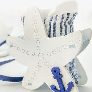 Portaconfetti stella marina