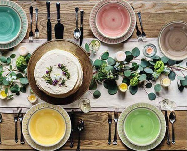 Servizio tavola 18 pezzi Gipsy Soft è realizzato in porcellana