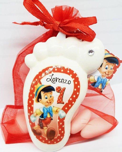 Bomboniera piedino Disney Pinocchio
