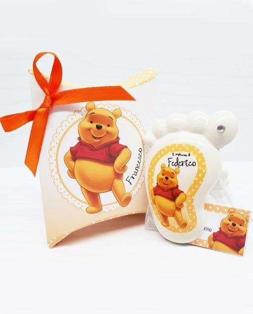 Bomboniera piedino Disney Winnie Pooh