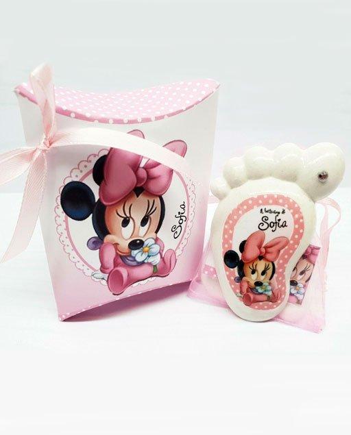 Bomboniera piedino Disney Minnie