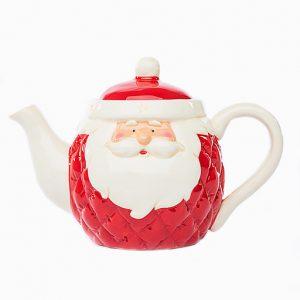 Teiera natalizia con classe e stile potrà essere vostra in qualsiasi momento della giornata, l'incanto delle forme e dei materiali entreranno nei vostri spazi donando un tocco natalizio a ogni tavola
