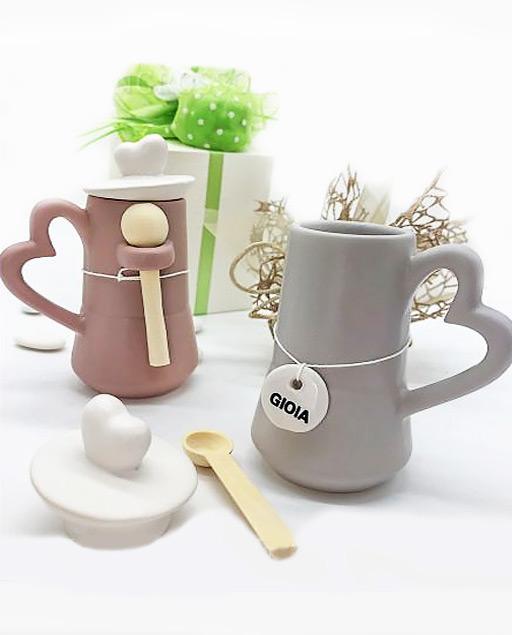 Bomboniere Matrimonio Moderne.Zuccheriera Moka In Ceramica Opaca Millemotivi Com