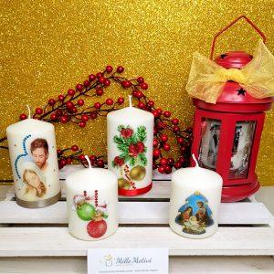 Candela di Natale personalizzata.. Una dedica, una frase, una foto o una qualsiasi altra immagine noi la imprimeremo su cera rendendo unico il tuo regalo... 🎁