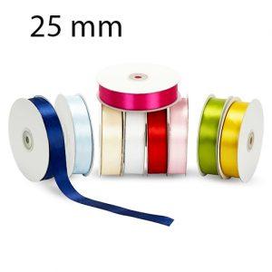 Nastro doppio raso mm 25 x 50 mt per confezionare la vostra bomboniera o dare un tocco finale ai vostri pacchetto regalo