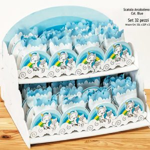 Set bomboniere nascita e compleanno bimbo fai da te, semplice da realizzare, complete di confetti e bigliettino.